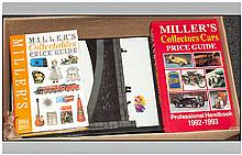 Box Of Books Including Millers Collectors Price Guides