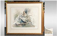 Gordon King Pencil Signed Limited Edition Fine Art Colour Print Number 172/