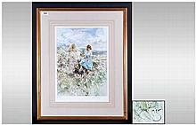 Gordon King Pencil Signed Limited Edition Fine Art Colour Print Number 351/