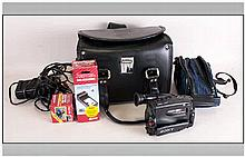 8MM Camcorder with all accessories including battery charger etc