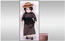 Antique - Fine Quality French S.T.B.J. 60 Paris Bisque Headed Doll with Ori