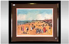 Helen Bradley 1900 - 1979 Pencil Signed and Ltd Edition Colour Print, Title