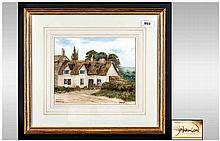 Alistair J. Makinson ( Born 1961 ) Lancashire Artist, Born In Whalley, Wate
