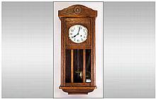 German Box Wall Clock
