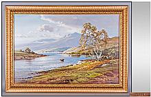 An Oil Painting by Scottish Artist W.McGregor. 20