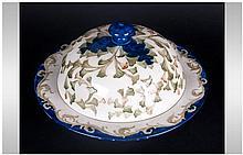 James Macintyre Circular Pudding Dish and Cover '