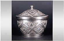 Oriental - Attractive Early 20th Century Silver Li