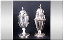 Victorian Silver Pepperette. Hallmark London 1899,