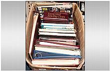 Box Of Mostly Empty Stamp Album