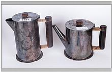 Trench Art Two Shell Cases Made Into A Coffee & Te
