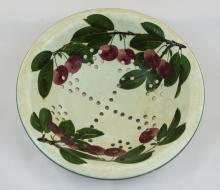 Wemyss Small Cherries Decorated Colander