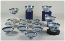 Collection Of Chinese Blue And White Por