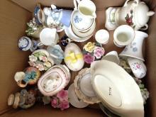 Box of Assorted Ceramics