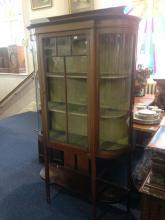 Edwardian Mahogany Display Unit