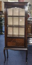 Early 20thC Display Cabinet, Astral Glaz
