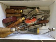 Small Quantity Of Tools To Include 19thC