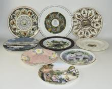 11 Cabinet Plates To Include Susan Neale