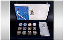 The Royal Mint ''Queen Elizabeth The Queen Mother Centenary Collection'' Co