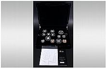 The Royal Mint 2010 The UK Silver Proof Coin Set, Proof Versions Of The UK