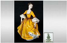 Royal Doulton Figure ' Stephanie ' HN.2807. Issued 1983-1994. Height 7.25 Inches. Mint Condition.