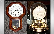 1950's Small Anniversary Clock & Quartz Wall Clock