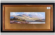 James Arthur Henry Jameson (Fl.1883-1923) Llyn Llydaw Wales Inscribed On La