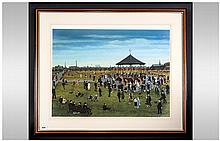 Tom Dodson Pencil Signed Limited & Numbered Edition Colour Print, 'Dancing In The Park' Number 84/85