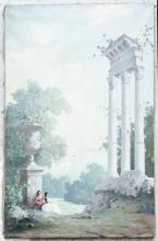 Two original oil on frames