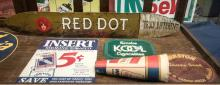 Group of misc. snuff, cigarette & cigar signs