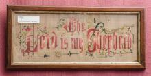 The Lord is My Shepherd cross stitch
