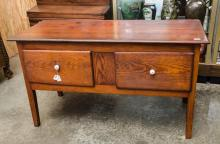 Short two door huntboard- with old surface