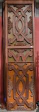 Carved panels- two approx 31