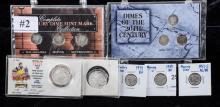 1939,1941,1941s mercury dimes au to bu,  four