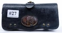 Civil War cartridge pouch - leather in nice