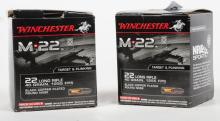 1000 Rds  Winchester .22LR 40gr