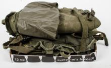 Group of military bags
