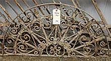 Metal arch approx 42