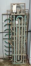 Four pieces of decorative metal