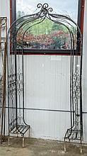 Garden metal arch -