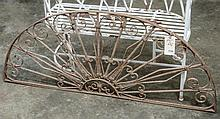 Decorative metal arch- approx 24