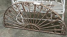 Decorative metal arch- approx 25