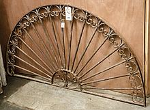 Decorative metal arch- approx 33