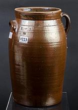 SR Rogers four gallon churn