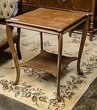 Oak center table