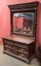 Two piece Victorian bedroom suite