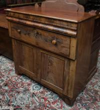 Mahogany & cherry 1830 sideboard/ jelly cupboard
