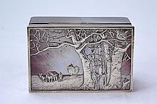 Sterling & Mother-of-Pearl Box