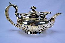 William Law Sterling Silver Tea Pot 1824