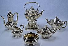 Tiffany & Co. Sterling Columbian Exposition Tea Set
