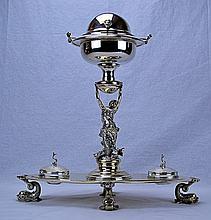 Unique Sterling Silver Caviar Server
